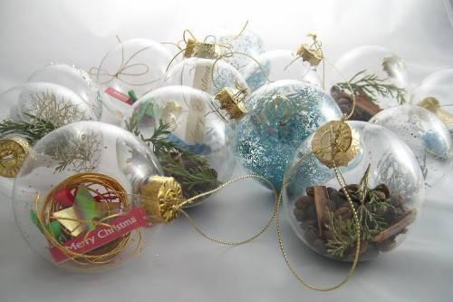 Стеклянные шары на елку своими руками